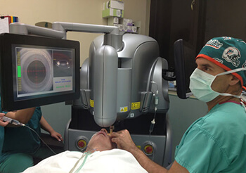 machine for laser eye surgery